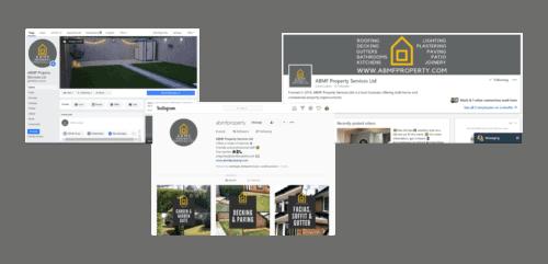 ABMF Property Services Social Media