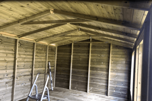 ABMF Property Services Starter Website Summerhouse Build